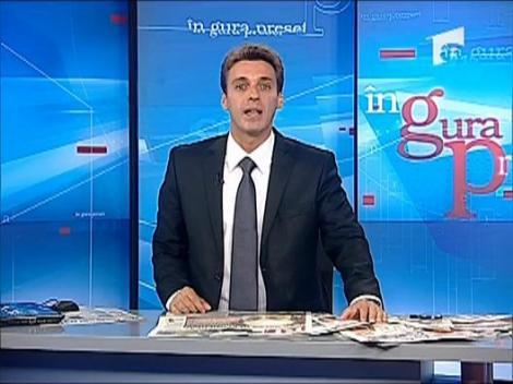"""Mircea Badea: """"Udrea semneaza cu trei maini motiunea de cenzura"""""""
