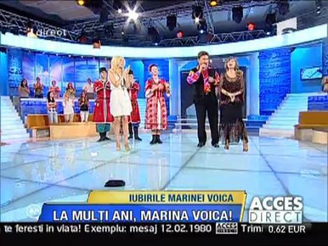 Surpriza pentru Marina - muzica si dansuri rusesti