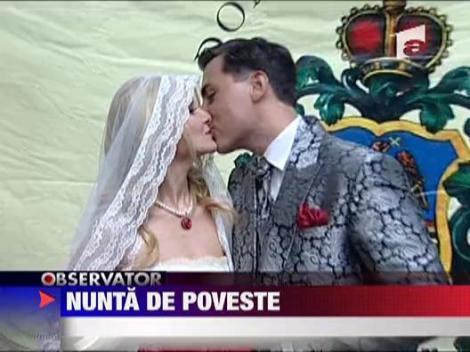 Nunta de poveste pentru Alina Sorescu si Alex Ciucu