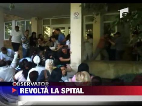 Revolta la spitalul judetean din Braila