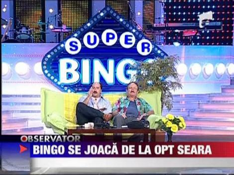 Bingo se joaca de la 8 seara