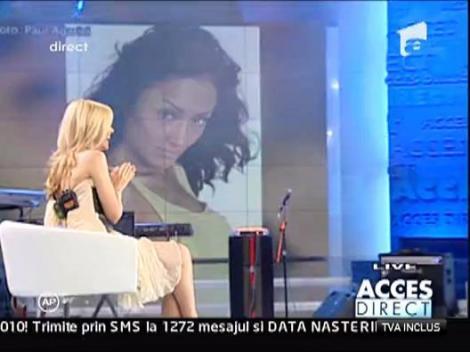 Nidia a cantat live la Acces Direct, sub privirile lui Horia