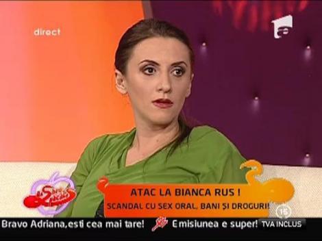 Adriana Bahmuteanu isi lauda angajata, acuzandu-i fostul iubit