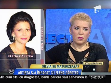 Elena Carstea si Silvia Dumitrescu s-au impacat
