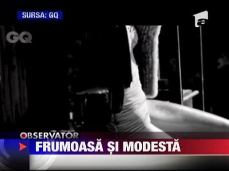 Jessica Alba, frumoasa si modesta