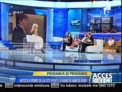 Ionela Prodan, la 63 de ani, a primit cadouri de 6000 de euro