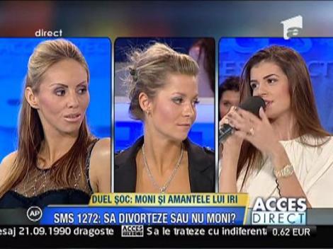 Monica le enerveaza pe fete, spiritele se incing la Acces Direct