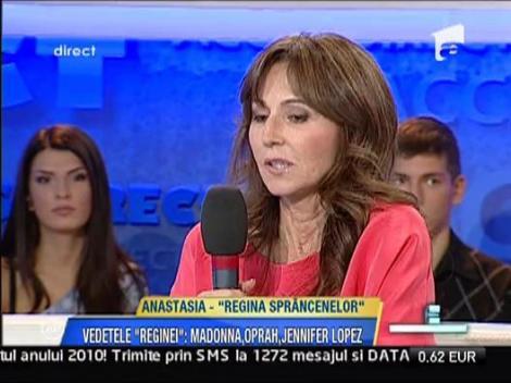 Anastasia este foarte buna prietena cu Jennifer Lopez