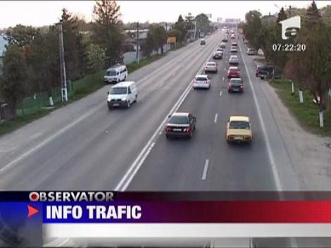 Info trafic - 10 octombrie