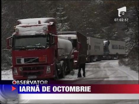 Iarna in octombrie