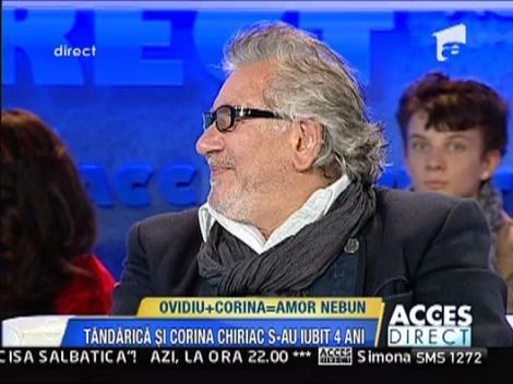 """Nicu Covaci: """"Corina era foarte posesiva, il iubea mult pe Ovidiu"""""""