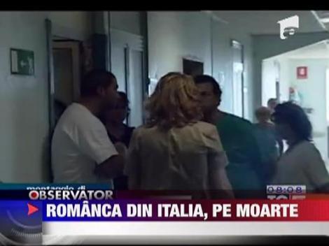 Romanca din Italia, pe moarte