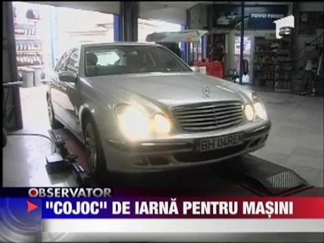 """""""Cojoc"""" de iarna pentru masini"""
