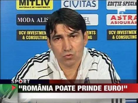 "Piturca: ""Romania poate prinde euro!"""