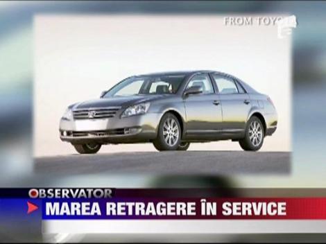 Toyota retrage in service peste 1.5 milioane de masini