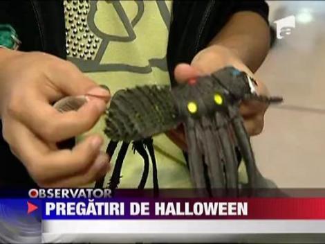 Pregatiri pentru Halloween