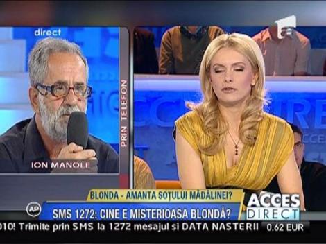Blonda lui Petru Mircea s-a mutat in casa Madalinei Manole?