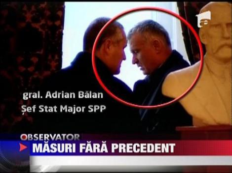 Masuri de securitate fara precedent la Parlamentul Romaniei