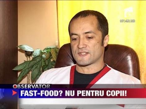 Felicia: Dependenta de fast-food