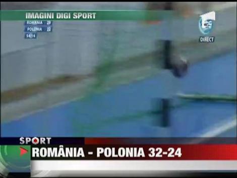 Romania - Polonia 32-24