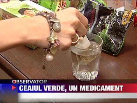 Ceaiul verde, un medicament