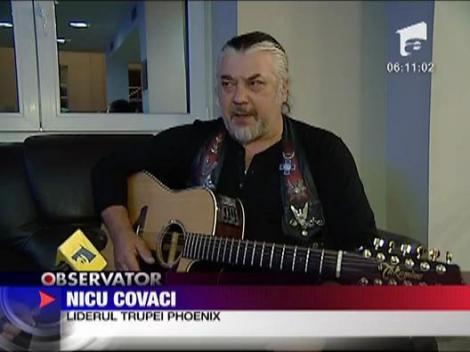 Trupa Phoenix in concert pentru Adrian Paunescu