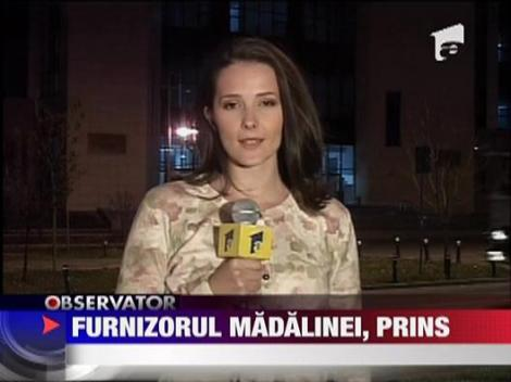 Furnizorul Madalinei Manole, prins