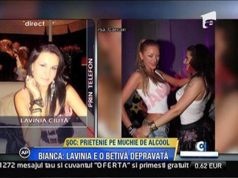 Mama Laviniei nu a fost de acord cu prietenia fiicei sale cu Bianca