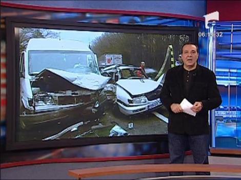 Accident rutier intre localitatile Codlea si Vladeni