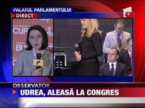 Udrea, aleasa la congresul PDL