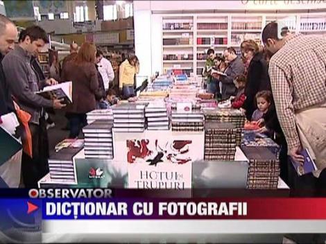 Dictionar cu fotografii