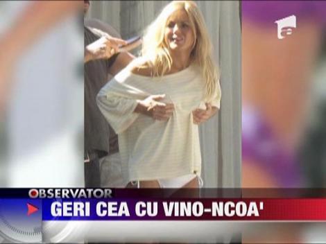 Geri Halliwell a facut senzatie in Miami