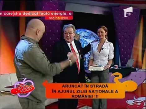 Corneliu Vadim Tudor, sarbatorit la Un show pacatos