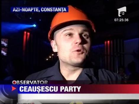 Ceausescu Party la malul Marii