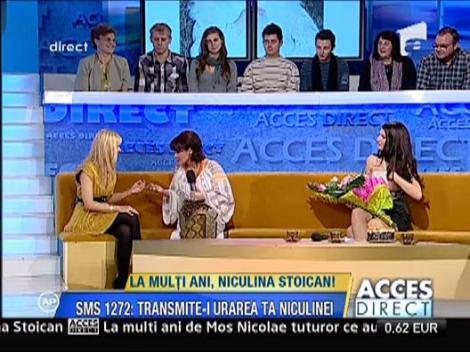 Surprize pentru Niculina Stoican