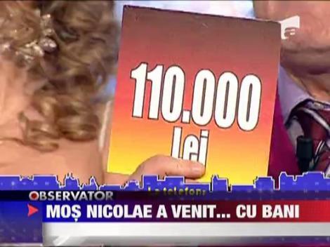 Mos Nicolae a venit cu... bani