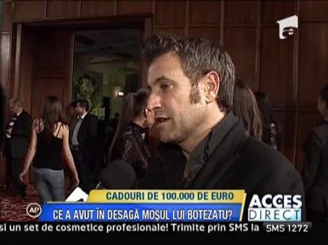 Catalin Botezatu a primit cadouri de 100.000 de euro