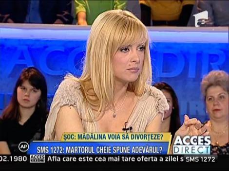 Madalina voia sa divorteze?