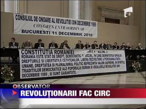 Revolutionarii fac circ