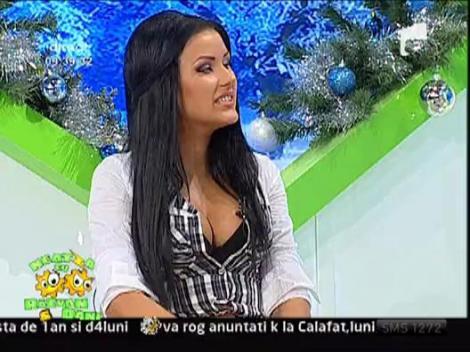 Daniela Crudu vrea numarul lui Mosu'