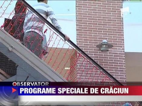 Programe speciale de Craciun