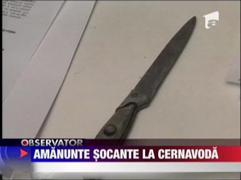 Au gasit arma crimelor de la Cernavoda