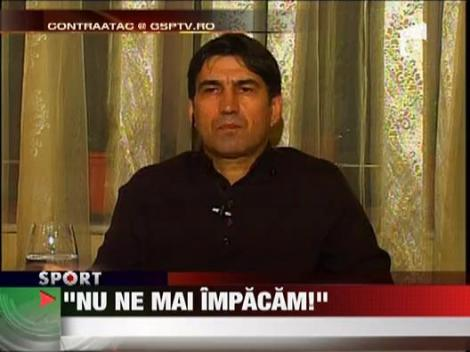 "Piturca: ""Nu va mai lucra niciodata cu Adrian Mititelu"""