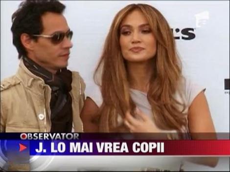 Jennifer Lopez isi doreste mai multi copii