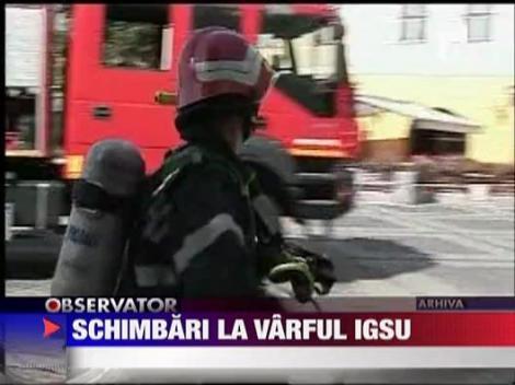 Schimbari la varful IGSU