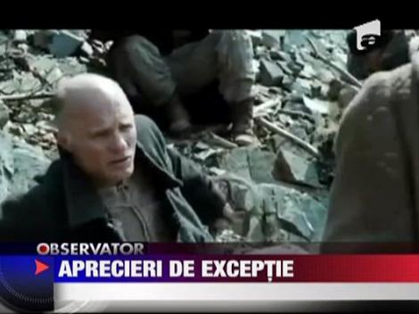 "Washington post: ""Exceptionalul actor roman Dragos Bucur"""