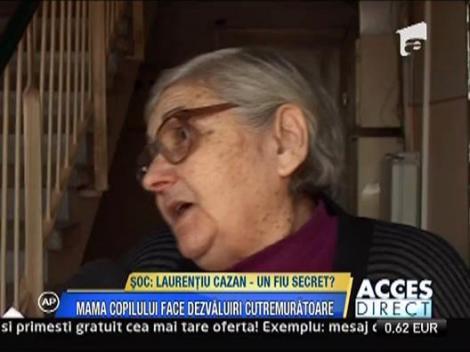 Laurentiu Cazan - are un fiu pe care nu vrea sa-l recunoasca