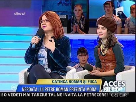 Nepoata lui Petre Roman - pe podiumurile de moda