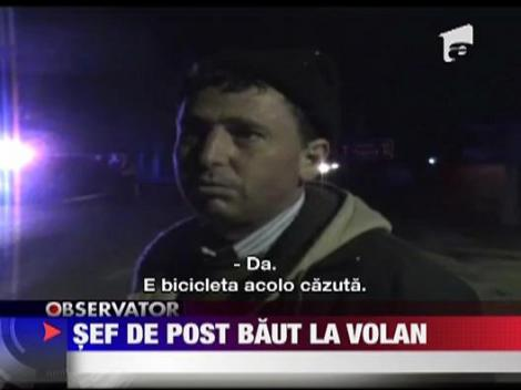 UPDATE / Un politist s-a urcat beat la volan si a nenorocit un biciclist