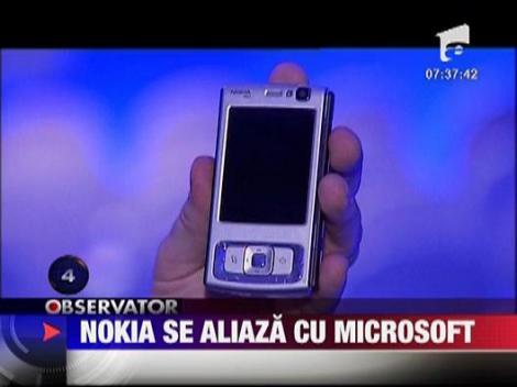 Nokia se aliaza cu Microsoft